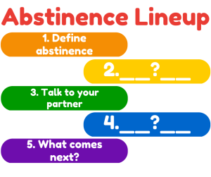 sex education abstinence lineup