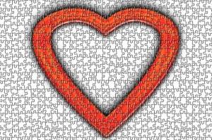 sex ed puzzle heart